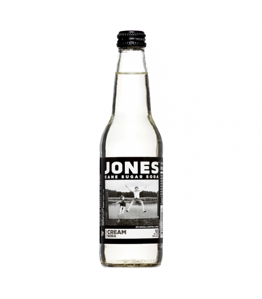 Jones Soda - Cream Soda - 12fl.oz (355ml) Regular Soda Jones Soda