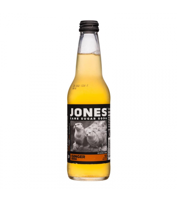 Jones Soda - Ginger Beer - 12fl.oz (355ml) Soda and Drinks Jones Soda