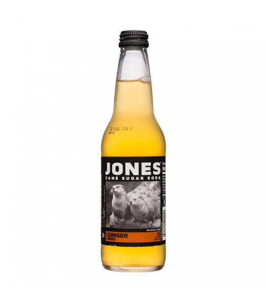Jones Soda - Ginger Beer - 12fl.oz (355ml) Soda and Drinks Jones Soda