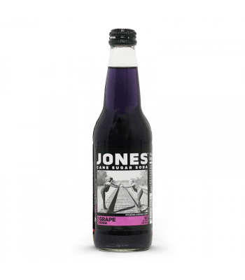 Clearance Special - Jones Soda - Grape Soda - 12fl.oz (355ml) **DAMAMGED** Clearance Zone