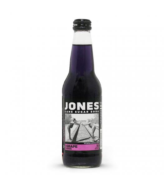 Jones Soda - Grape Soda - 12fl.oz (355ml) Soda and Drinks Jones Soda