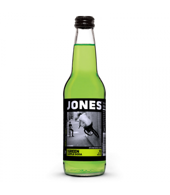 Jones Soda - Green Apple Flavour