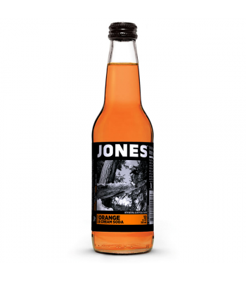 Jones Soda - Orange & Cream - 12fl.oz (355ml) Soda and Drinks Jones Soda