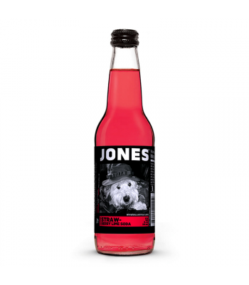 Jones Soda - Strawberry Lime - 12fl.oz (355ml) Regular Soda Jones Soda