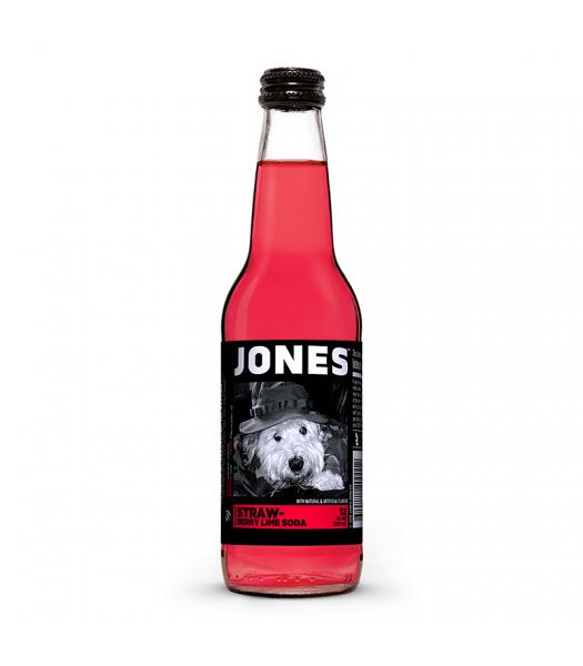 Jones Soda - Strawberry Lime - 12fl.oz (355ml) Regular Soda Jones Soda