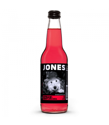 Jones Soda - Strawberry Lime Flavour