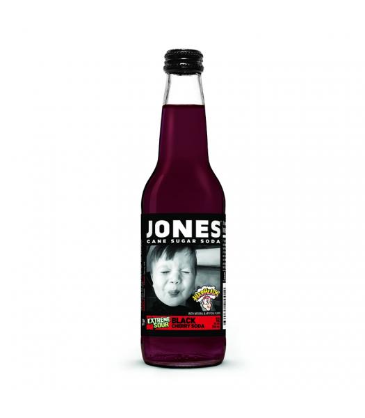 Jones Soda - Warheads Black Cherry - 12fl.oz (355ml) Soda and Drinks Jones Soda