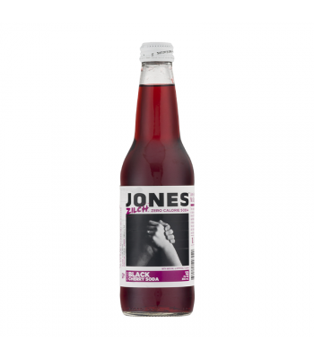 Jones Soda - Zilch Black Cherry (Diet) - 12fl.oz (355ml) Soda and Drinks Jones Soda