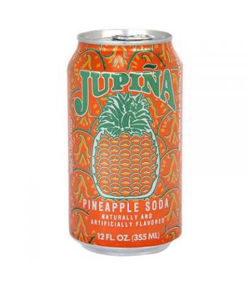 Jupina Pineapple Soda - 12fl.oz (355ml) Soda and Drinks