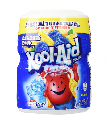 Kool Aid - Blue Raspberry Lemonade Tub - 20oz (567g) Soda and Drinks Kool Aid