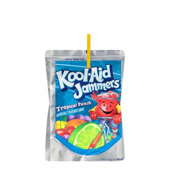 Kool Aid Jammer Tropical Punch - 6fl.oz (177ml) Soda and Drinks Kool Aid