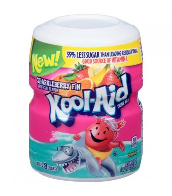Kool Aid Sharkleberry Fin 19oz (538.6g) Tub Drink Mixes Kool Aid