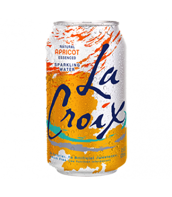La Croix Apricot Sparkling Water 12oz (355ml) Soda and Drinks La Croix
