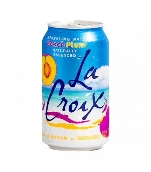 La Croix Beach Plum Sparkling Water - 12oz (355ml) Soda and Drinks La Croix