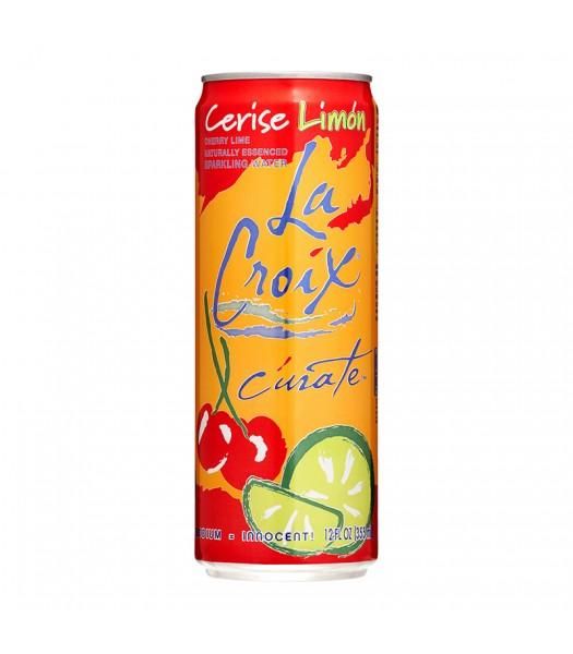 La Croix Cherry Lime Sparkling Water 12fl.oz (355ml) Soda and Drinks