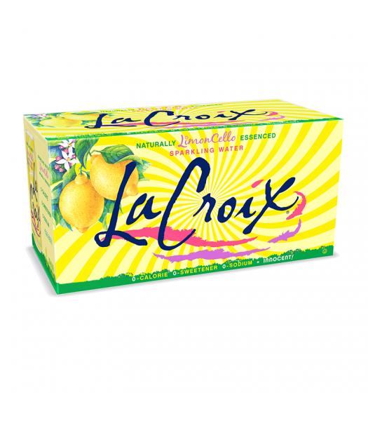 La Croix Limoncello 12-Pack (12 x 12fl.oz (355ml)) Soda and Drinks La Croix