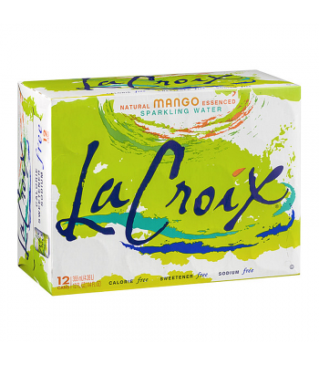 La Croix Mango 12-Pack (12 x 12fl.oz (355ml)) Soda and Drinks La Croix