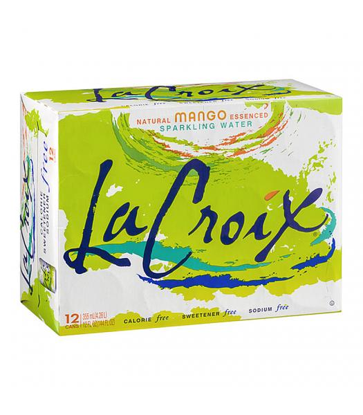 La Croix Mango 12-Pack (12 x 12fl.oz (355ml)) Soda and Drinks La Croix