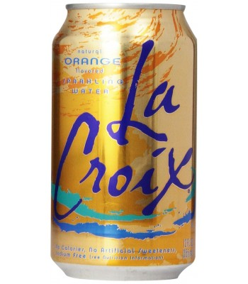 La Croix Orange Sparkling Water 12fl.oz (355ml) Soda and Drinks La Croix