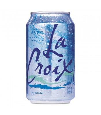 La Croix Pure Sparkling Water 12fl.oz (355ml) Soda and Drinks