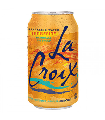 La Croix Tangerine Sparkling Water 12fl.oz (355ml) Soda and Drinks La Croix