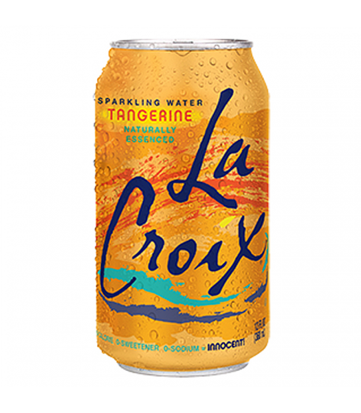 La Croix Tangerine Sparkling Water 12fl.oz (355ml) Soda and Drinks La Croix
