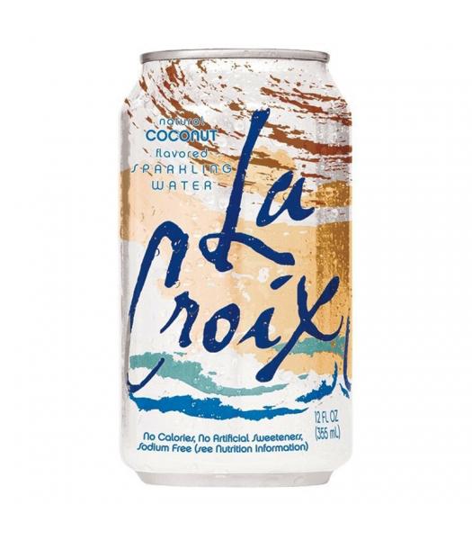 La Croix Coconut Sparkling Water 12fl.oz (355ml) Soda and Drinks La Croix