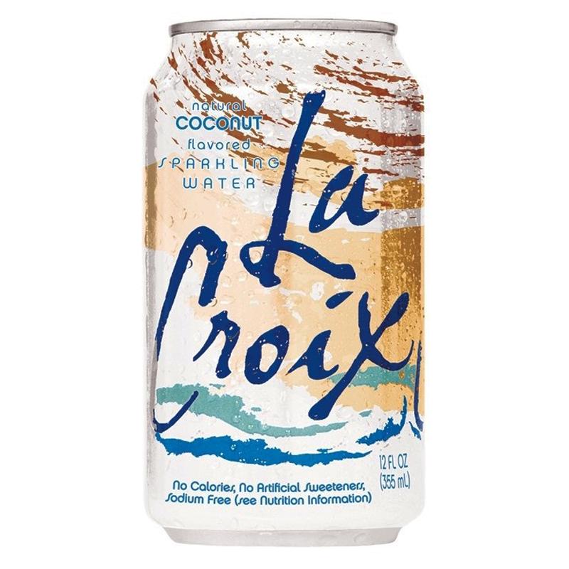 La Croix Coconut Sparkling Water 12floz 355ml American Fizz