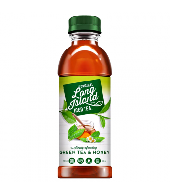 Long Island Ice Tea - Green Tea & Honey - 18fl.oz (532ml) Iced Tea
