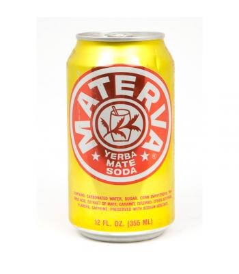 Materva Soda - 12 Oz (355ml) Soda and Drinks