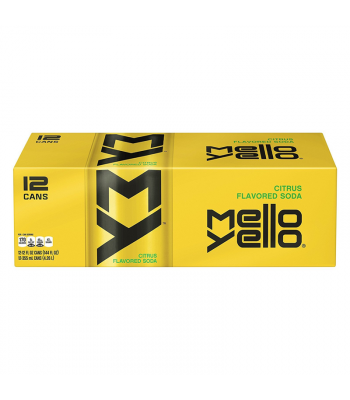 Mello Yello Soda - 12-Pack (12 x 12fl.oz (355ml)) Soda and Drinks