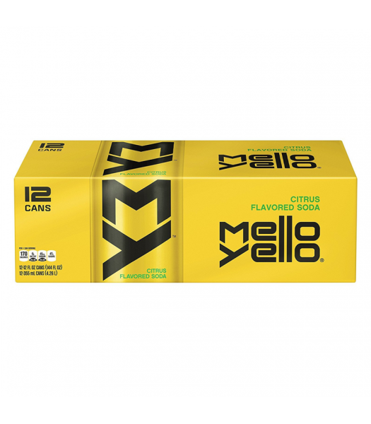 Mello Yello Soda - 12-Pack (12 x 12fl.oz (355ml)) Soda and Drinks