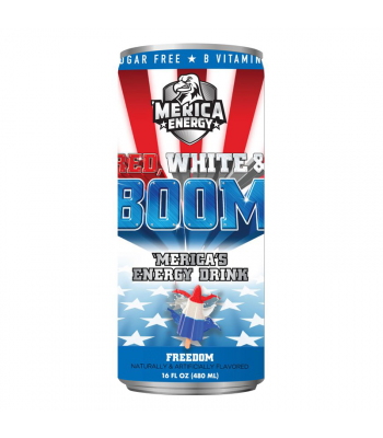 'Merica Energy Red White & Boom - Freedom - 16fl.oz (480ml)