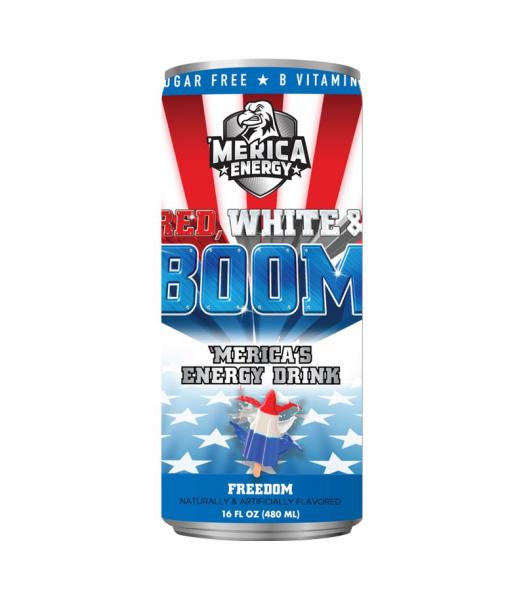 'Merica Energy Red White & Boom - Freedom - 16fl.oz (480ml)