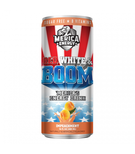 'Merica Energy Red White & Boom - ImPEACHment - 16fl.oz (480ml)
