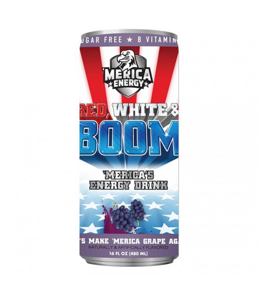 'Merica Energy Red White & Boom - Lets Make 'Merica GRAPE Again - 16fl.oz (480ml)