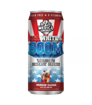 'Merica Energy Red White & Boom - 'Merican Classic - 16fl.oz (480ml)