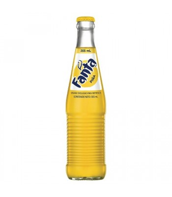 Mexican Fanta Pineapple Soda 355ml Soda and Drinks Fanta