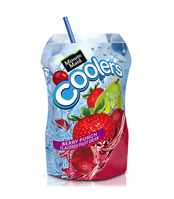 Minute Maid Cooler Berry Punch 6.75 fl oz (200ml) Fruit Juice & Drinks Minute Maid