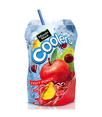 Clearance Special - Minute Maid Cooler Fruit Punch 6.75 fl oz (200ml) ** Best By: 22 May 2017 ** Clearance Zone