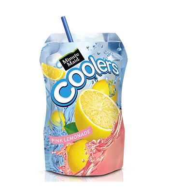 Minute Maid Cooler Pink Lemonade 6.75 fl oz (200ml)  Fruit Juice & Drinks Minute Maid