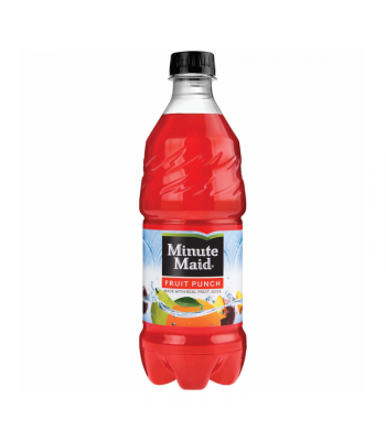 Minute Maid Fruit Punch - 20oz (591ml) Soda and Drinks Minute Maid