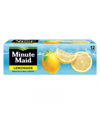 Minute Maid Lemonade - 12-Pack (12 x 12fl.oz (355ml)) Soda and Drinks Minute Maid