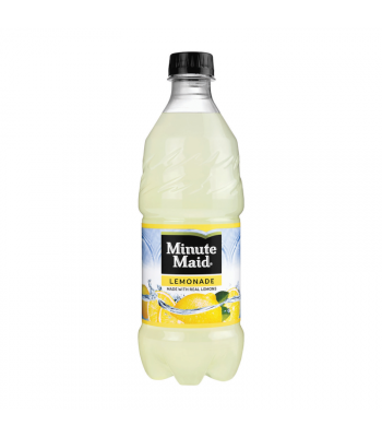 Minute Maid Lemonade - 20oz (591ml) Soda and Drinks Minute Maid