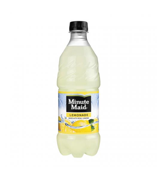 Minute Maid Lemonade - 20oz (591ml) Soda and Drinks Minute Maid