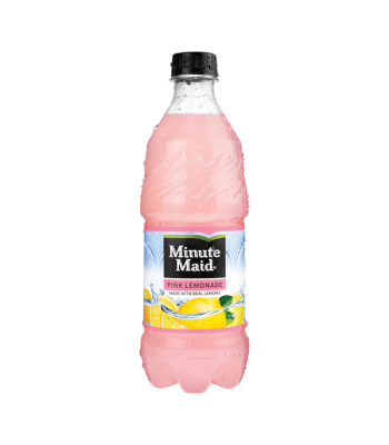 Minute Maid Pink Lemonade - 20oz (591ml) Soda and Drinks Minute Maid