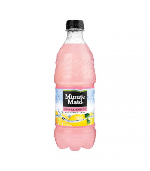 Minute Maid Pink Lemonade - 20oz (591ml) Soda and Drinks Minute Maid