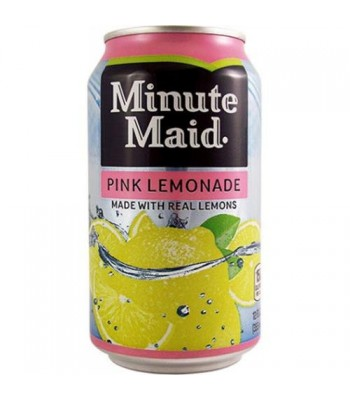 Minute Maid Pink Lemonade 355ml  Soda and Drinks Minute Maid