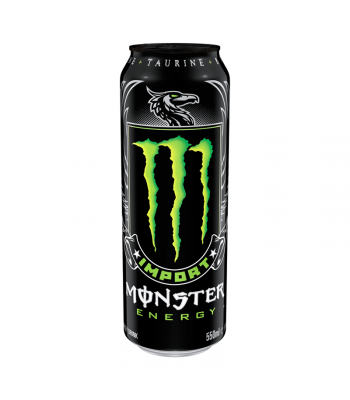 Monster Energy Import - 18.6fl.oz (550ml) Soda and Drinks Monster