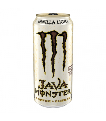 Monster Java Vanilla Light - 16fl.oz (473ml) Energy & Sports Drinks Monster